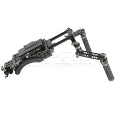 LPT HDV Rig is perfect for filmmakers who want an easy to setup, light weight configuration. It features Lanparte's new V-Mount dovetail baseplate and front hand-grip with the optional Double Bracket C-CAge. This configuration is compatible with C300, C50