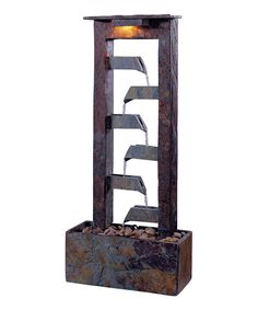 Look at this Passage Natural Slate Table Fountain on #zulily today!