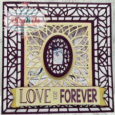 Kiwi Lane Designs, Heart Sketch, Frantic Stamper, Something Wicked, Sue Wilson, 7th Anniversary, Elizabeth Craft, Cottage Art, Distress Oxide Ink