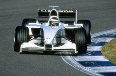 Jos Verstappen, Honda RA099 - Mugen/Honda V10. Test España 1999.