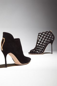 Complement your look for a night on the town with sexy sky-high heels from Sergio Rossi!