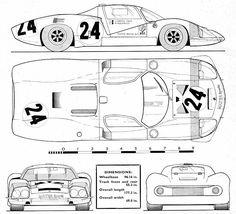 Matra 630 blueprint