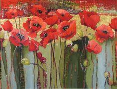 "Anne Salas - ""Chilmark Poppy Field"""
