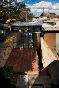 The Upside-Down Back-To-Front House – Rozelle House – by Carterwilliamson Architects I Like Architecture
