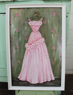 Rosy gown