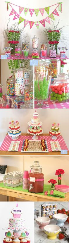 candy shoppe party!