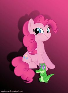 Pinkie and gummy: )