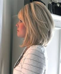 medium angled bob with bangs - Google Search