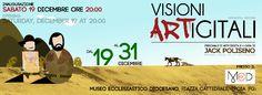 VISIONI ARTigitali - Personale di Arte Digitale di Jack Poliseno - 19/31 dicembre 2015 - M.E.D. Piazza Cattedrale, Troia (Fg) @ M.E.D. Piazza Cattedrale - 19-Dic