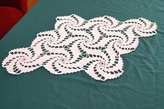 Vintage white crocheted doily. White Crochet by vintagdesign