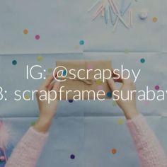 Berikan kado terbaik untuk orang spesial kamu di moment paling spesial agar hidup dia makin berkesan dan kamu makin dicintai,dirindukan, dan disayang  Siapa lagi yg ingin membuat dia bahagia ?  #scrapsby #happiness