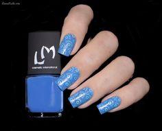 VERNIS STAMPING : Bleu Azur – LMCOSMETIC