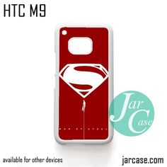 Man of Steel YDP Phone Case for HTC One M9 case and other HTC Devices