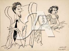 Ronald Searle :  'Family bugbear'