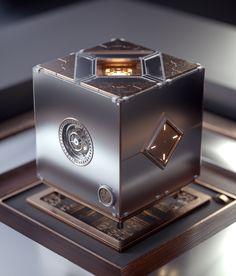 Game Ui Design, 3d Design, Dazzler Marvel, Custom Computer Case, Companion Cube, Future Gadgets, Design Digital, Isometric Art, Different Art Styles