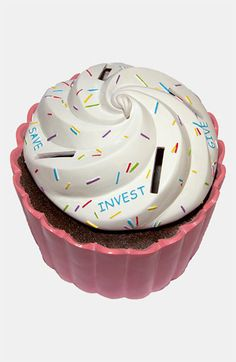 Money Scholar Cupcake Savings Bank | Nordstrom