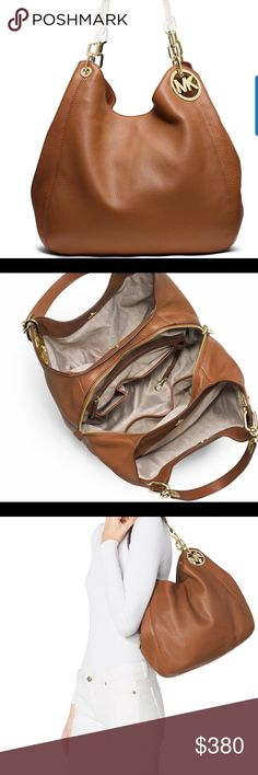 New Michael kors Fulton large shoulder New Fulton large shoulder tote Michael Kors Bags Shoulder Bags