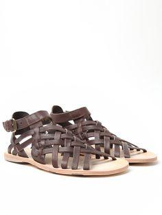 cca66ad87d10 The Alexander McQueen Men s Leather Sandal