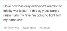 So true!! Btw HANDS OFF LOKI!!... And Steve... And Bucky.. And Tony... And Spidey... And... Well you get it