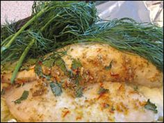 Spice-rubbed and Roasted Flounder Fillets