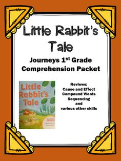 """Use+this+packet+to+review+the+story+""""Little+Rabbit's+Tale"""".++The+12+pages+cover+the+following:+1.+Title+Page2.+Story+information+such+as+title,+author,+characters,+setting,+and+author's+purpose.3.+Find+the+page+number.++Students+are+given+a+quote+from+the+story+and+they+must+search+the+story+and+write+the+page+it+is+found.4."""