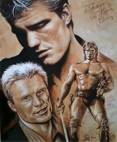 Dolph Lundgren by ~huy-truong on deviantART