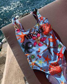 Leonie Hanne – Versace swimsuit Swimsuits, Bikinis, Swimwear, Leonie Hanne, Summer Beach, Versace, Continue, Fashion, Beachwear Fashion
