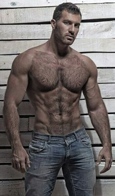 FOR THE LOVE OF - hairy muscles and a six pack sounds like a Saturday night