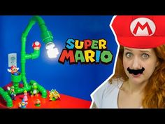 DIY Geek: Como Fazer Luminária de Cano PVC do Super Mario Bros - YouTube