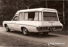 1968 Chevrolet Impala Ambulance Taxi Steen Ommen 95-31-GJ by Hartog, via Flickr