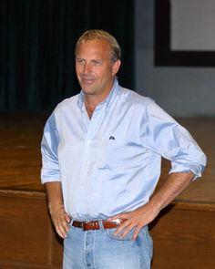 No one in the world I'm more attracted to than Kevin Costner!