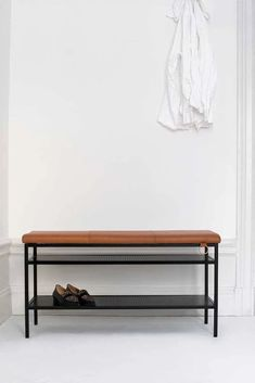 A neat, Swedish-made shoe bench with a stylish and classic expression. Shoe Bench, Perforated Metal, Royal Design, Bench With Storage, Home Decor Kitchen, Elmo, Maze, Entryway Bench, Upholstery