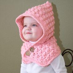 Crochet For Children: Textured Toddler Hood - Free Pattern