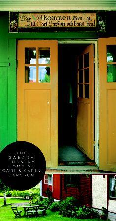 Lilla Hyttnas (Carl & Karin Larsson's home). Painting by Carl Larsson. Layout by Sycamore Street Press