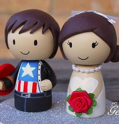 avengers wedding cake toppers - Google Search