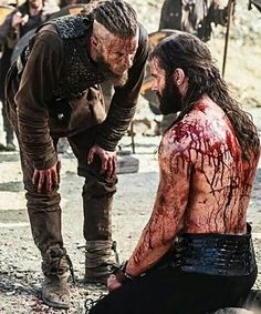 "Ragnar  Rollo. ""Not that you care but, your niece Gyda is dead."""