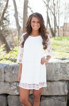 State of Grace White Dress
