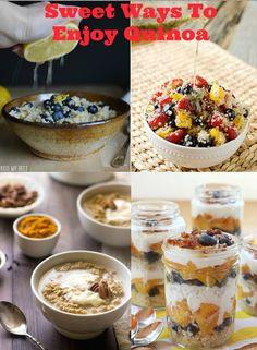 Love quinoa? Here are 14 sweet quinoa recipes to enjoy!