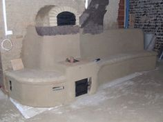 Like the pizza oven on top idea for outside. Rocket mass heater with pizza oven on top. Temps get very hot on top of those barrels. auxfoursapain.com