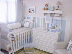 Quarto completo Príncipe Baby Nursery Diy, Baby Boy Room Decor, Baby Nursery Furniture, Baby Boy Rooms, Baby Bedroom, Baby Boy Nurseries, Nursery Room, Kids Bedroom, Baby Room Colors