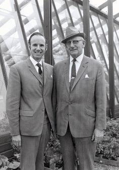 DJ & Colin in the 1970s.
