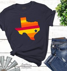 Check out our massive range of Houston Astros merchandise! Houston Shirt, Houston Astros Shirts, Texas Shirts, Vinyl Shirts, Monogram Shirts, Custom Shirts, Kentucky Basketball, Sports Basketball, Duke Basketball