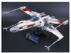 Brand NEW CUSTOM Set Star Wars Red Five X-Wing Starfighter Brick Fit 10240 (UPS)