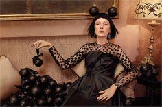 The night before Christmas : Vogue Italia December 2014