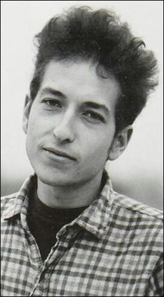 Bob Dylan looking happy and like a regular person.