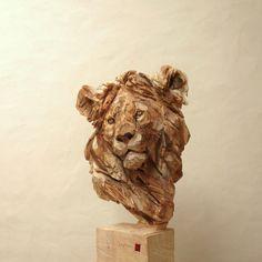 Lion - Wood - 175x50x55cm 2