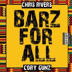 DEF!NITION OF FRESH : Chris Rivers & Cory Gunz - Barz For All (All For One Freestyle)...It's a lyrical Christmas as Chris Rivers and Cory Gunz delivers verbal gifts over Brand Nubian's 'All For One' instrumental. Arguably two the best lyricist out of the BX delivers nothing short of masterly crafted bars on this classic instrumental.