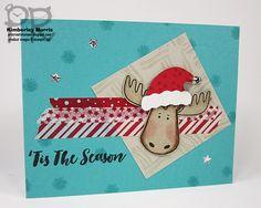 procrastistamper: September Step It Up Blog Hop - stepped up design. Featuring Stampin' Up!'s new Jolly Friends stamp set.
