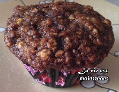 Muffins dattes chocolat No Cook Desserts, Dessert Recipes, Mousse Dessert, Breakfast Muffins, Salad Bar, Healthy Meals For Kids, Muffin Recipes, Sweet Bread, Great Recipes