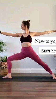 Beginner Yoga Workout, Gym Workout Videos, Gym Workout For Beginners, Mommy Workout, Fitness Workout For Women, Yoga Sculpt, Kids Yoga Poses, Simple Yoga, Gymnastics Workout